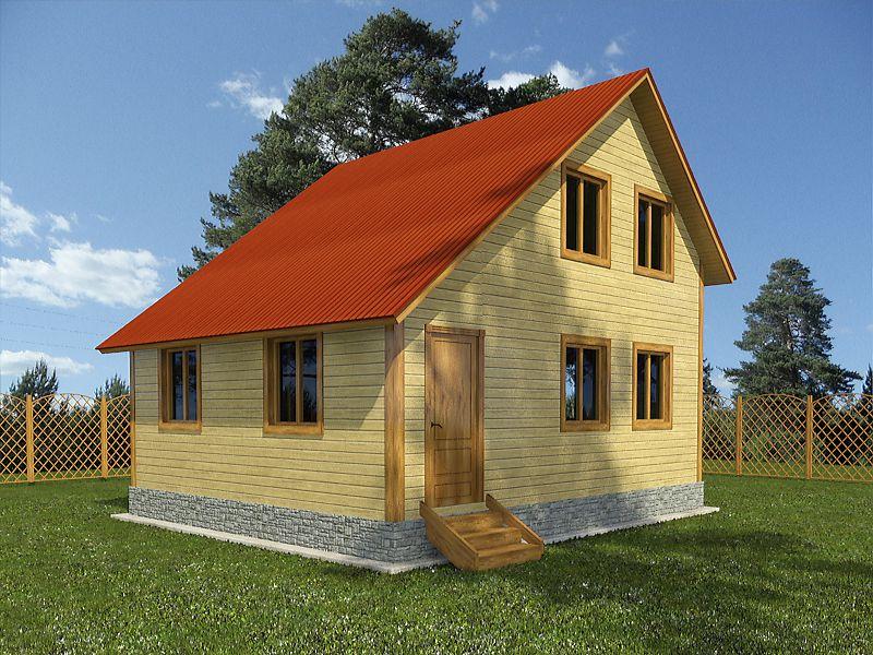 Дома проекты и фотографии план полтора этажа