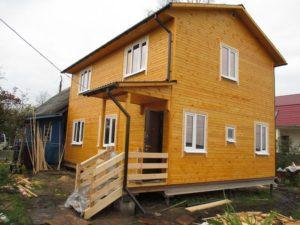 проект двух этажного дома 6*9