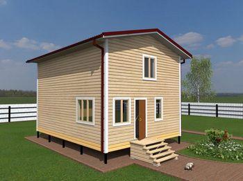 проект дома 6 на 8 двухэтажный