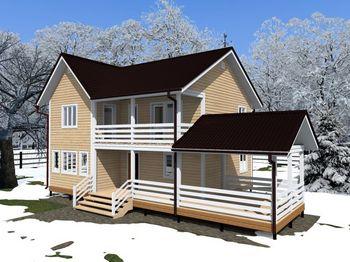 проект дома 8 14 двухэтажный