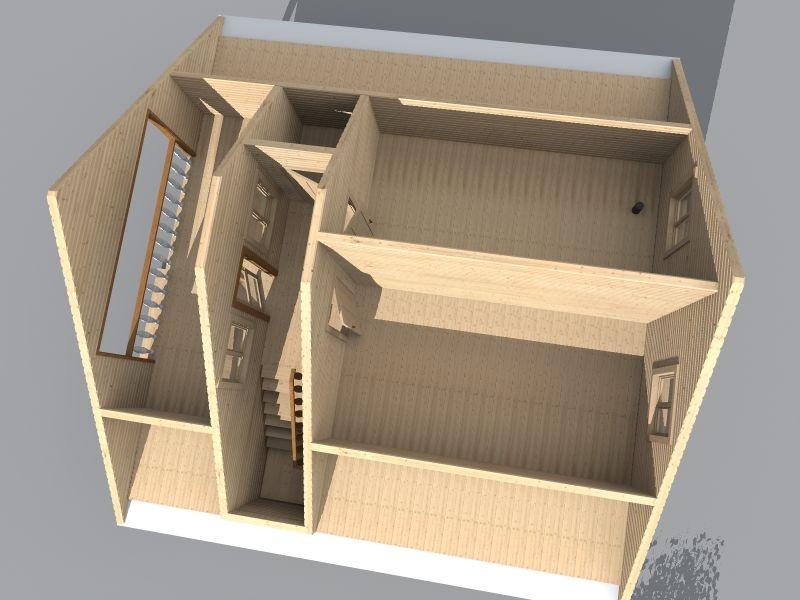 дом баня 9х9