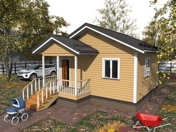 дом из бруса 6х6 одноэтажный цена.глав