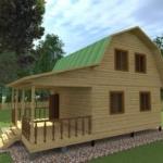 дом 6 9 с мансардой удачный проект