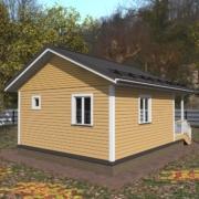 дом из бруса 6х6 одноэтажный цена