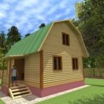проект дома 6на9 с мансардой