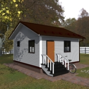 проекты одноэтажного дома 6 6 из бруса