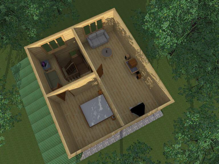 Удобная планировка комнат