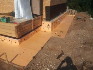 Как утеплить фундамент под дом из натуральной древесины