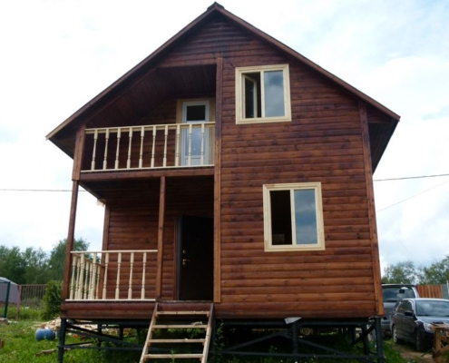 Проект дома 6 8 дмитров