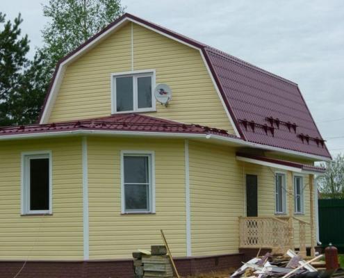 Проект дома 6х8 киржачь