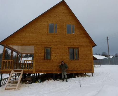 Проект дома 6х9 Хотьково