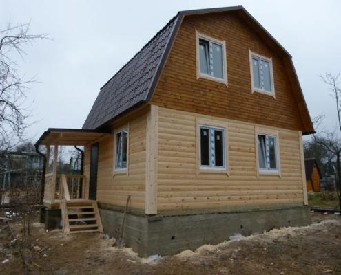 Проект дома 6на9 малоярославец