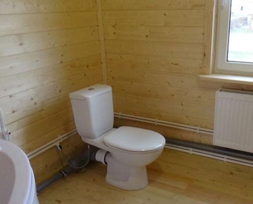 сантехника в деревянном доме