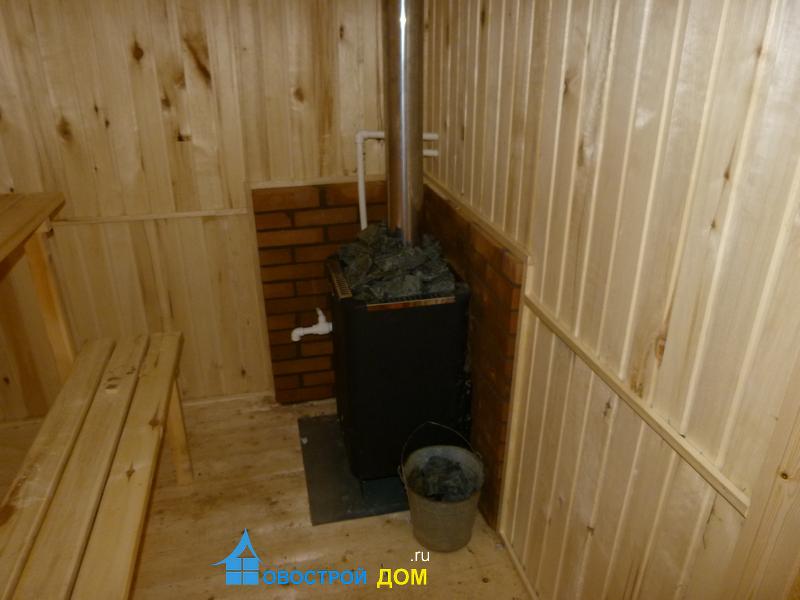 Баня из бруса под ключ «Калуга»